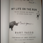 Reminder: Bart Yasso Signed Copy of My Life on the Run