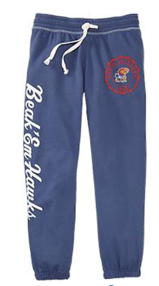 kansas sweatpant