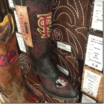 florida state boots