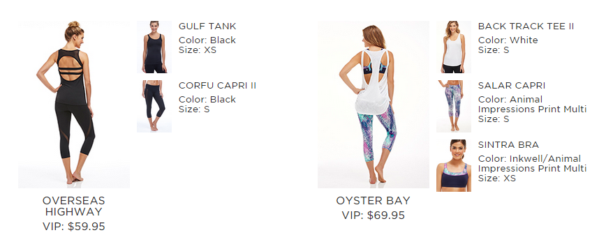 fabletics choices