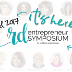 LOVING the RD Entrepreneur Symposium: You can Too!